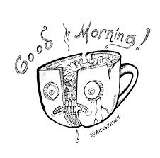 good morning coffee mug by chib on deviantart