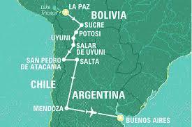 La Paz Mexico Map by Bolivia To Argentina Adventure Bolivia Tours Geckos Adventures Au