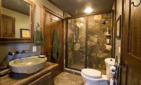 cabin bathroom ideas home design ideas
