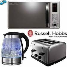 Stainless Steel Kitchen Set by Stainless Steel Microwave Grill Blue Illuminating Toaster