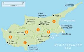 Where Is Syria Located On The Map by Where Is Cyprus Located Naij Com