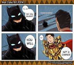Funny Superman Memes - injustice batman vs superman tell me do you bleed know your meme