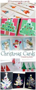 create a christmas card 20 christmas cards made by the kids on as we grow