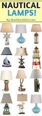 nautical lamps beachfront decor
