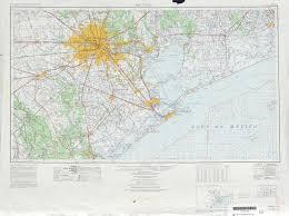 Houston Maps Houston Topographic Maps Tx Usgs Topo Quad 29094a1 At 1 250 000
