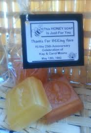 honey bee soap favors wedding favors anniversary favors baby