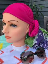 simple hair bandana for covering patch of bald head for ladies blog a wig and a prayer