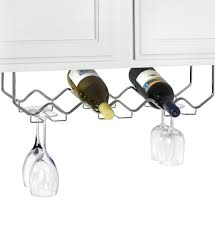 wine glass racks and stemware racks organize it