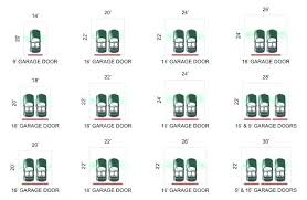 size of a 3 car garage two car garage dimensions typical door size standard in stylish