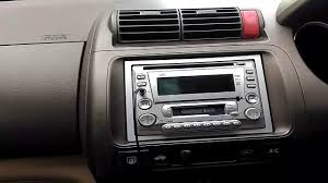 time setting or change time jvc kw xc858 honda city 2005 youtube