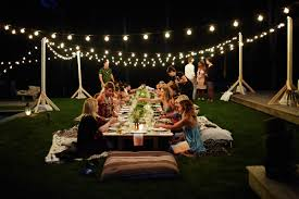Patio String Lighting by Backyard String Lighting Ideas Mekobrecom Makeovers Outdoor Lights