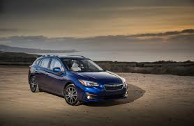 2017 subaru impreza sedan interior 2017 subaru impreza a nervous new parent u0027s dream car wsj