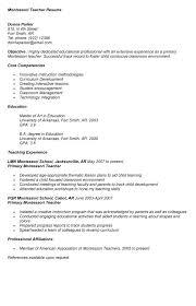 student resume sle experienced resume montessori resume sle tgam