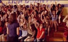 Raising Hand Meme - mean girls raising hand meme generator