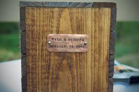 wine box wedding ceremony wine box vows weddingbee