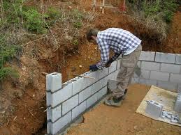 retaining garden wall block ideas designs how to build a for cheap