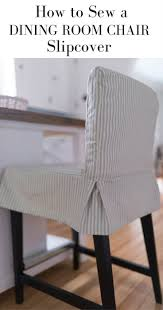 best 25 slipcovers for dining chairs ideas on pinterest dining how to sew a parsons chair slipcover for the ikea henriksdal bar stool
