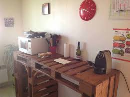 office de cuisine comptoir de cuisine pallet kitchen counter 1001 pallets