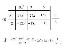 mathrecreation dividing polynomials the grid method