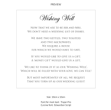 wishing well wording for wedding invitations images invitation