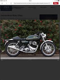 norton cafe racer road racer 750 commando norton wasp