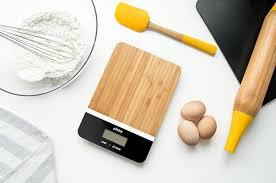 balance cuisine design la balance en bambou de pebbly ultra design et fonctionnelle a