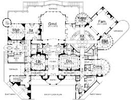 mansion floorplan homes mansions balmorial home plan house plans 42959