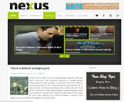 Fashion Nexus A Fashion Blog by Templatesus Tips And Tricks Blogging