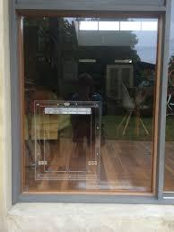 pet doors for sliding glass patio doors dog door in glass