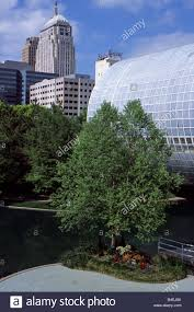 Oklahoma City Botanical Garden by Oklahoma City Oklahoma Usa Myriad Botanical Gardens Stock Photo
