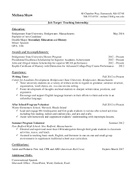 Resume Accomplishments Examples by Academic Resume Template For College College Resumes Samples
