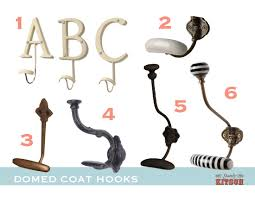 domed coat hooks stately kitsch idolza