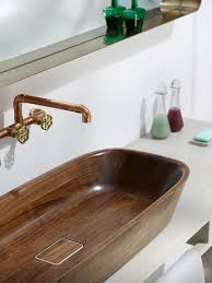 Alegna Bathtubs by Bathroom Brown Copper Visel Sink Double Handle Satin Nicel