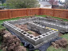 71 best garden concrete and cinder block images on pinterest cement block garden