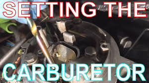 vw golf carburetor adjustments setting fast idle u0026 choke on