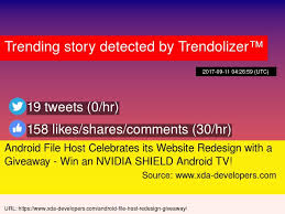 android file host android file host celebrates its website redesign with a giveaway