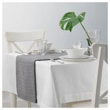 ikea table runners tablecloths goddag table runner black white 35x130 cm ikea