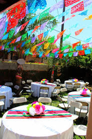 Outdoor Party Decorations by Best 25 Mexican Party Decorations Ideas On Pinterest Mexican