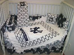 Yankees Crib Bedding Crib Bedding Nursery Set Made W Ny Yankees Dallas Cowboys