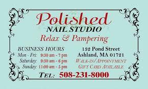 polished nail studio home facebook