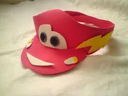 como hacer gorras de fomix del cars viseras gorras y sombreros locos cars pinterest fiestas