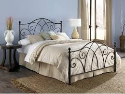 white rod iron bed frame susan decoration