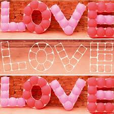 valentines day balloons wholesale balloon grid wedding decorations day gift party