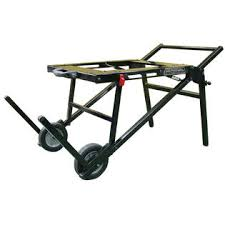 Folding Table Saw Stand General International 10