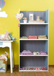 Bookshelf Makeover Ideas Diy Baby Room Decor Ideas Old Bookcase Makeover Stripped Wallpaper