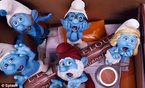smurfs communists accused communists daily mail