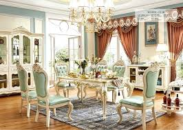 11 dining room set european style dining room sets table modern furniture 11 marble