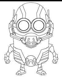 minions coloring pages 12 print color free
