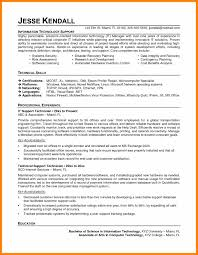 8 information technology technician resume resign latter