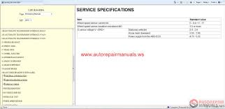 mitsubishi l200 2012 workshop manual auto repair manual forum
